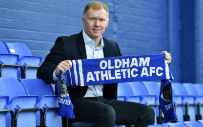 Oldham, Paul Scholes è il nuovo manager