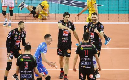 Champions Volley, Lube Civitanova ai quarti