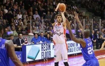 Reggio Emilia torna alla vittoria, Brindisi ko