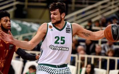 Basket: Gentile dà l'addio al Panathinaikos