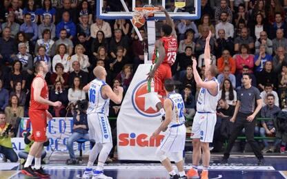 Milano vince a Sassari, Avellino passa a Reggio