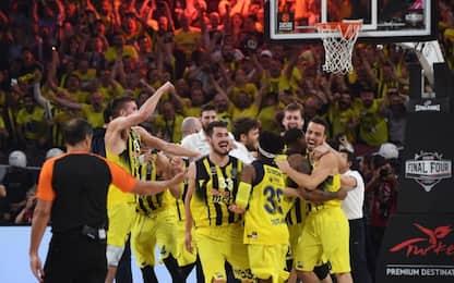 Eurolega, trionfo Fener. Datome sul tetto d'Europa