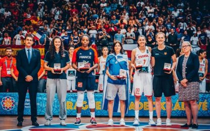 Eurobasket, Zandalasini nel miglior quintetto