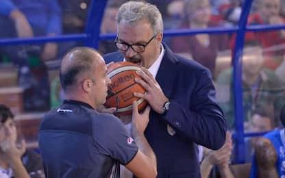 Meo Sacchetti, chi è il nuovo coach di Italbasket