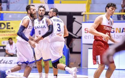Basket: super Italia, Turchia strapazzata 73-53