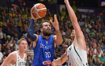 Europei, l'Italia perde 78-73 contro la Lituania