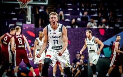 Europei, la Slovenia va in semifinale: 103-97
