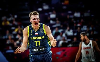 Eurobasket, la Slovenia domina la Spagna: 92-72