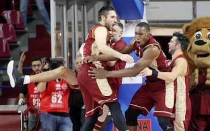 Basket, Champions: Festa Venezia, cade Avellino