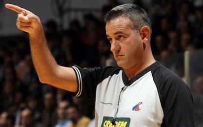 Basket in lutto: è morto l'arbitro Mattioli