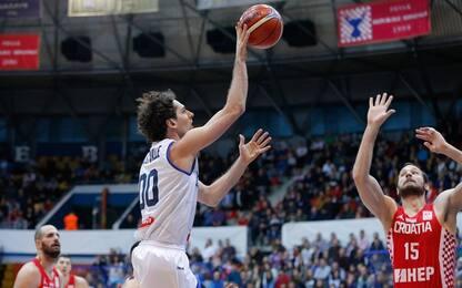 L'Italia vola e vince anche in Croazia: 80-64