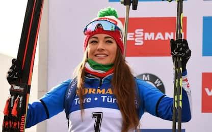 Biathlon, Dorothea Wierer 2^ nella sua Anterselva
