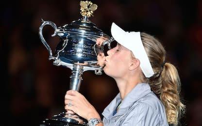 Aus Open, trionfa Wozniacki. Halep ko in finale