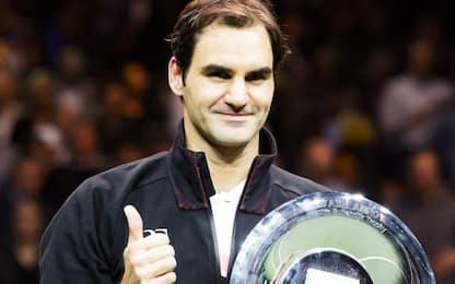 Federer abbatte Dimitrov: trionfo a Rotterdam