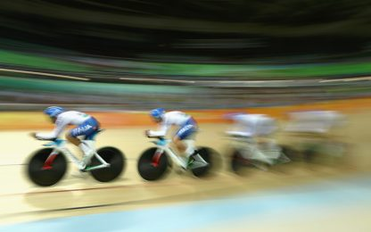 Mondiali su pista, bronzo Italia nell'inseguimento