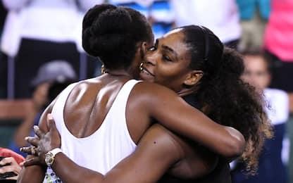 Indian Wells: Serena ko nel derby Williams