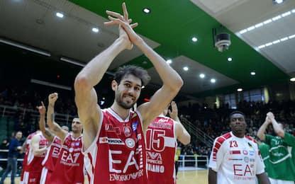 L'Olimpia vince ad Avellino e torna prima