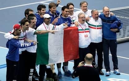 Coppa Davis, Italia-Francia per la semifinale