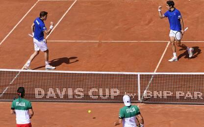Davis, doppio azzurro ko: Italia-Francia 1-2