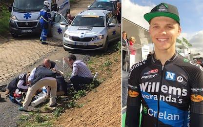 Tragedia alla Roubaix, Goolaerts muore per infarto