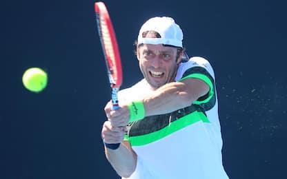 ATP Montecarlo: Lorenzi fuori al primo turno
