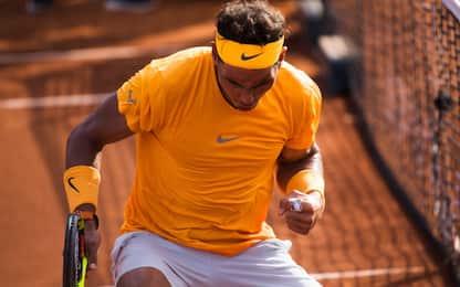 Barcellona: Nadal in finale con numeri da record