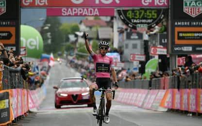 Giro: Tolmezzo, vince Yates. Crolla Aru
