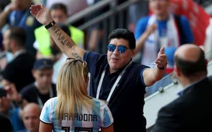 Fifa indignata, Maradona si scusa sui social