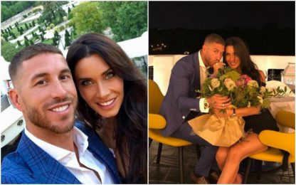 Sergio Ramos sposa Pilar Rubio: l'annuncio social