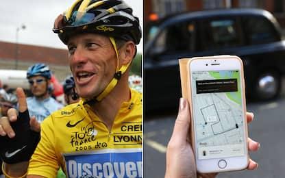 """Armstrong: """"La mia famiglia salva grazie a Uber"""""""