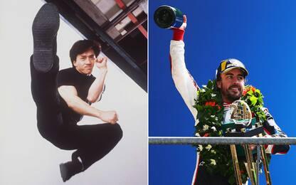 24 Ore di Le Mans, Jackie Chan sfida Alonso