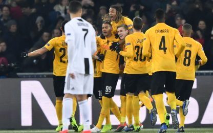 Hoarau-show, Juve battuta 2-1 ma prima nel girone