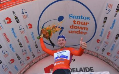 Tour Down Under, Viviani vince prima tappa
