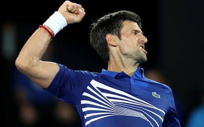 Aus Open: avanti Djokovic e Zverev. Fuori Thiem