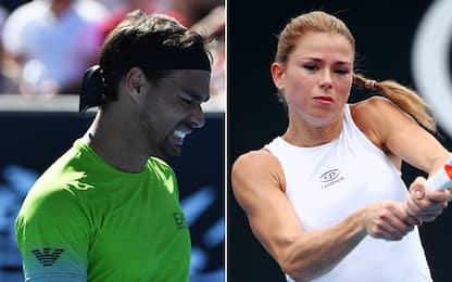 Melbourne: Fognini e Giorgi fuori al 3° turno