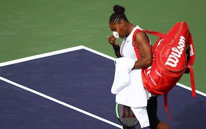Indian Wells, l'influenza mette ko Serena Williams