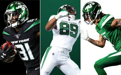 NFL, i Jets cambiano look: ecco le nuove divise