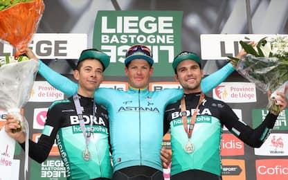 Fuglsang conquista la Liegi. 2° Formolo, 8° Nibali