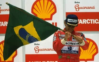 Senna, quando il Brasile perse il suo dio