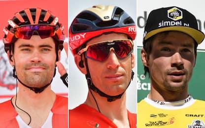 Tutti gli avversari di Nibali: i favoriti del Giro