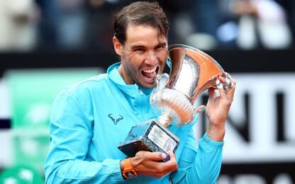 Nadal, nona sinfonia a Roma: Djokovic ko in finale