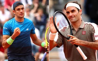 Parigi: Berrettini e Federer al 2° turno