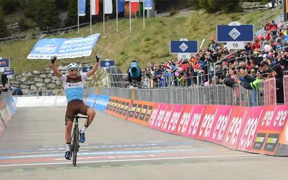 "Giro: Peters vince ad Anterselva. Nibali perde 7"""