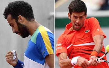 Roland Garros: sarà Caruso-Djokovic al 3° turno