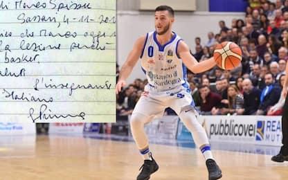 """""""Distratto dal basket"""", la nota al 15enne Spissu"""