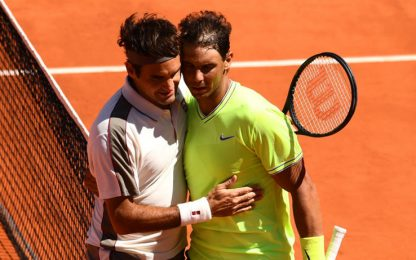 Nadal in finale a Parigi, Federer dominato