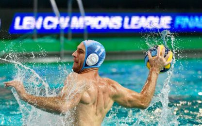 Champions: beffa Pro Recco, Olympiacos in finale