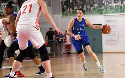 Ottima Italia con la Bielorussia: 73-56 a Parma