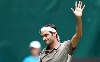Halle, Federer agli ottavi. Berrettini e Seppi ok