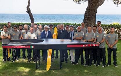 Luna Rossa, presentato team per la Coppa America